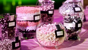 Sweet and colourful – the candy bar